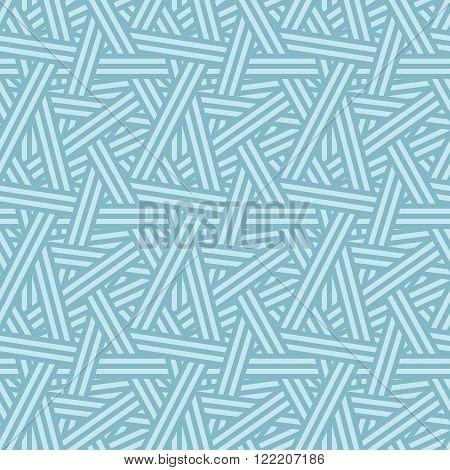 Seamless Vector Interweaving Lines Nature Empyrean Pattern Background