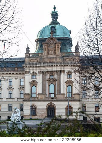 Straka Academy, the seat of Governmen of Czech Republic in Prague