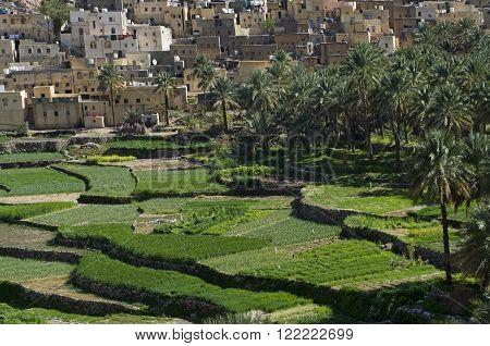The old village Bilad Sayt sultanate Oman
