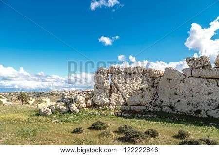 General Ggantija Temple View