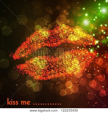 woman lips illustration design easy all editable