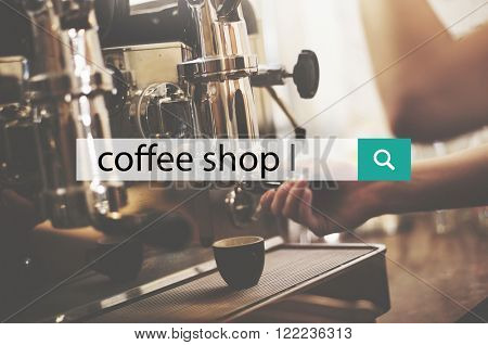 Coffee Shop Break Leisure Relax Cafe Concept