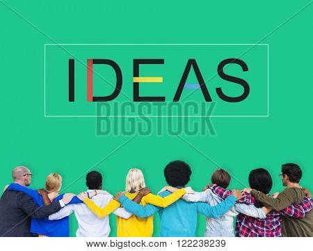 Team Teamwork Huddle Ideas Support Concept