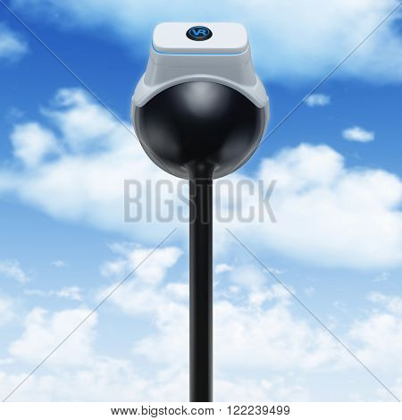 Virtual Reality VR Head In The Clouds