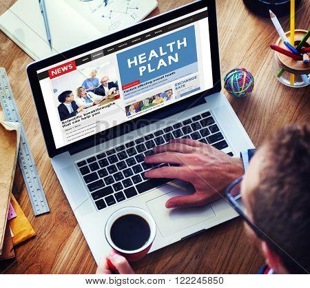 Health plan Treatment Healthcare Diagnosis Care Concept