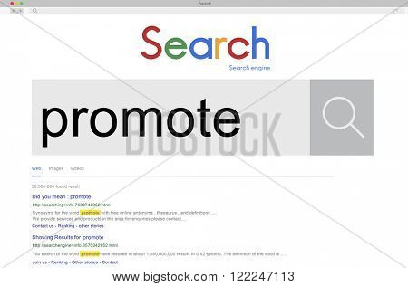 Promote Promotion Branding Commercial Advertise Concept