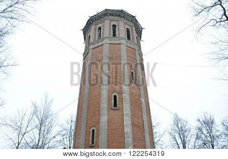 the old water tower. Moscow region Vidnoye