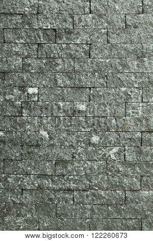 Grunge olden black-white brick wall high detail