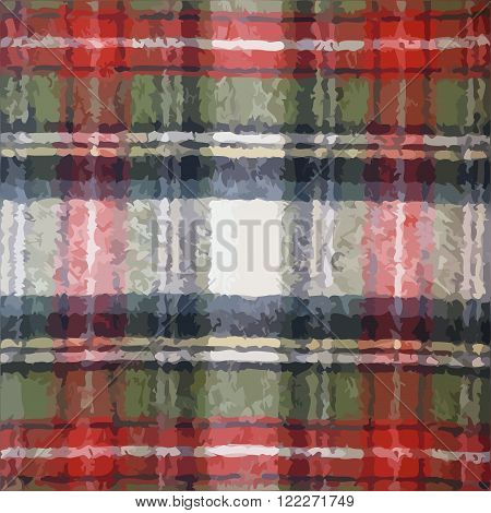 Plaid tartan pattern vector texture or background