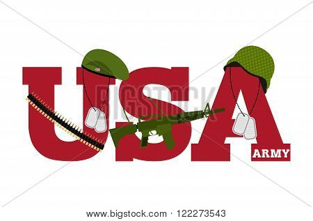 Us Army. Symbol Of Americas Army. Logo For U.s. Armed Forces. Soldiers Accessories. Green Beret And