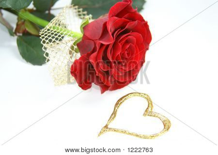 Heart And Rose
