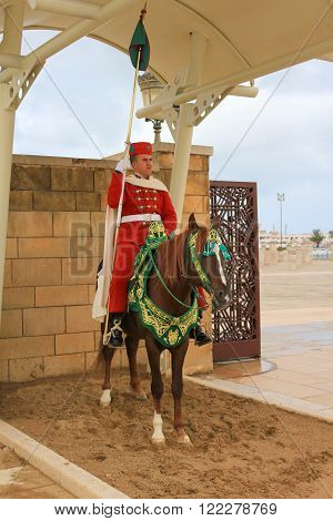 Guard In Rabat, Morocco