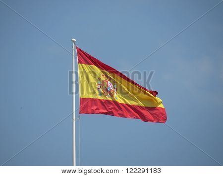 Spanish Flag Floating