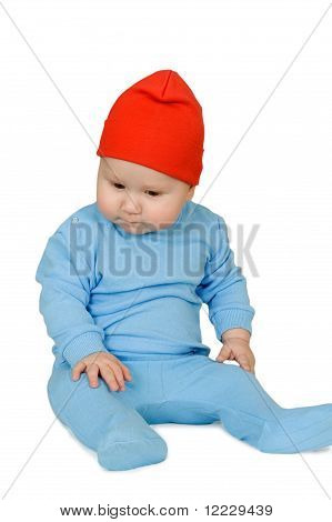Baby In Red Hat