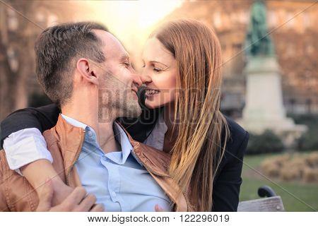Tenderness between lovers