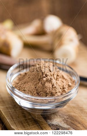 Small Portion Of Galangal Powder