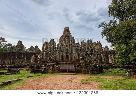 Majestic Bayon Temple