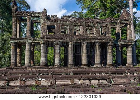 Remnants Of Ancient Building