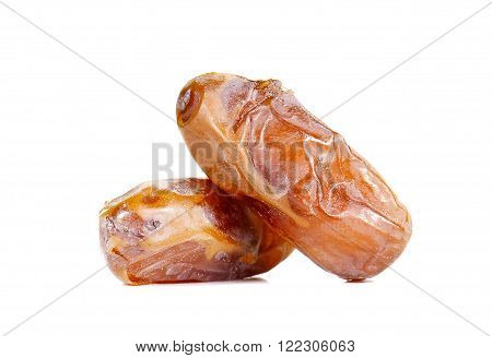 Date palm isolated on a white background.