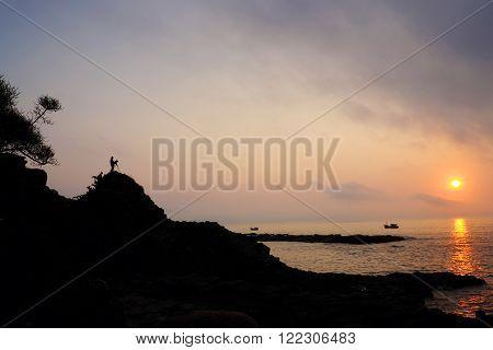 Vietnam Seaside, Sunrise, Da Dia Rapids
