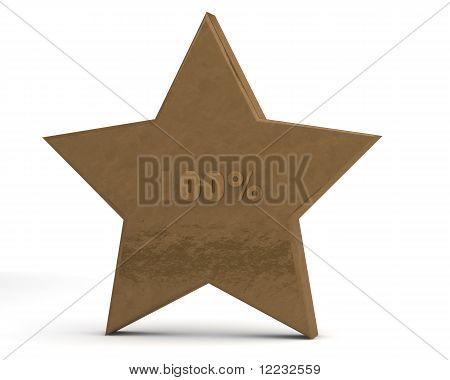 Gold star 100