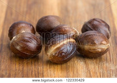 Nutmeg In A Shell