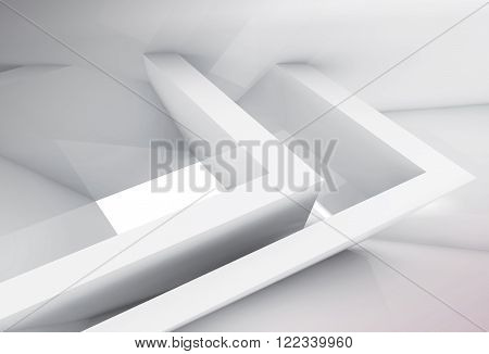 Window And Intersected Geometric Structures 3D