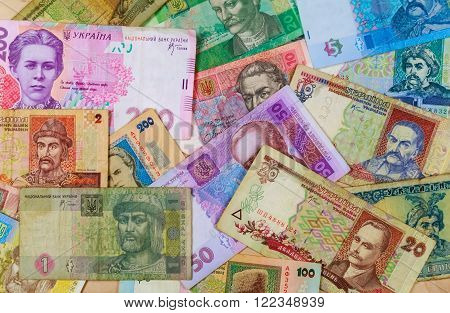 ukrainian money hryvnia business finance currency ukraine