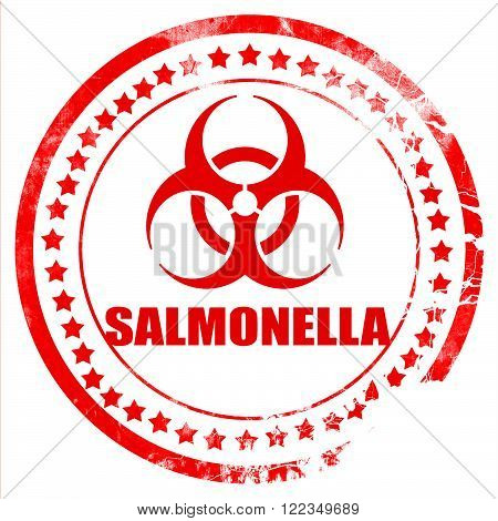 Salmonella concept background with some soft smooth lines