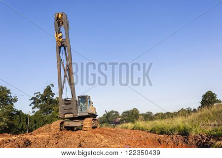 Mobile Crane Constuction