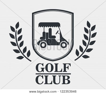 golf league design, vector illustration eps10 graphic