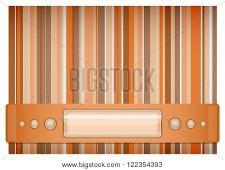 Orange - brown background. Illustration 10 version