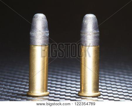 Rim fire ammo designed to go into a twenty two