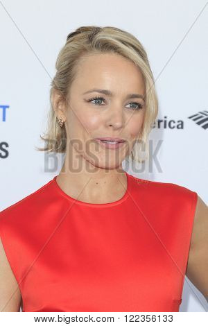 SANTA  MONICA - MAR 1: Rachel McAdams at the 2016 Film Independent Spirit Awards at Santa Monica Beach on February 27, 2016 in Santa Monica, California