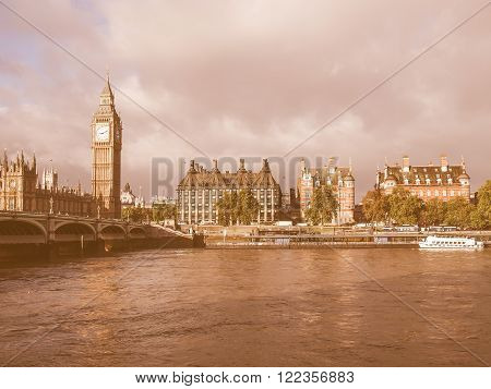 Westminster Bridge Vintage