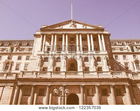 Bank Of England Vintage