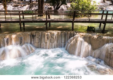 Laos. Luang Prabang. Tad Sae Waterfall. Nature