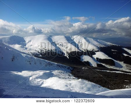 This is view which is located in Slovakia mountains.