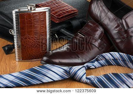 Beautiful picture of mens modern life can use as background texture