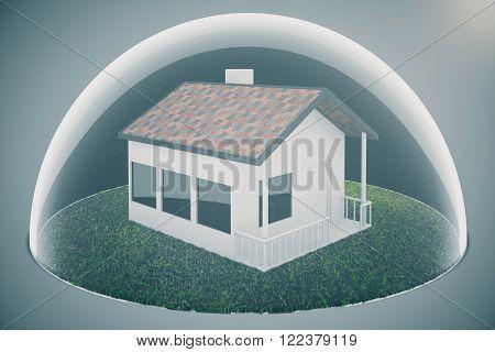 Housing Bubble On Light