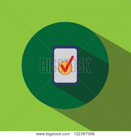 Flat Ipad Icon Vector Universal Sign .
