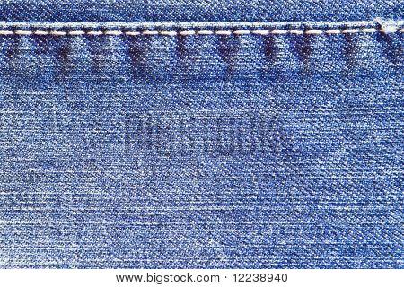 textura de blue jeans denim para el fondo