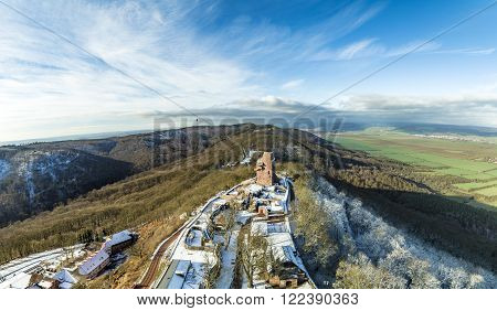 Wilhelm I Monument On Kyffhaeuser Mountain Thuringia, Germany