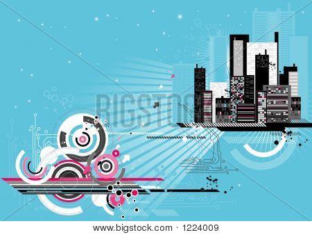 Städtisches Motiv