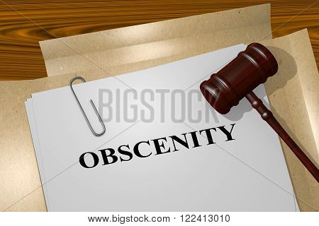 Obscenity Concept