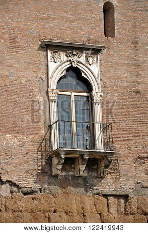 Imperial Forum Of Emperor Augustus. Rome, Italy