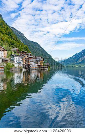 Hallstatt Town And Hallstatt Lake