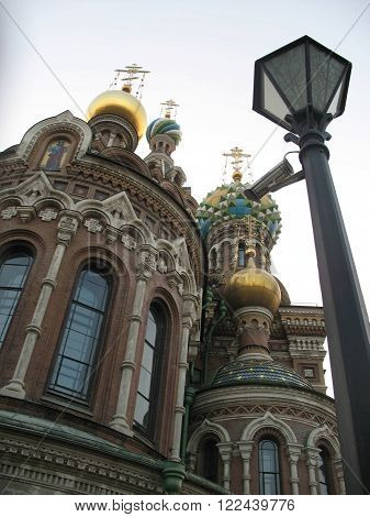 Church of the Savior on Blood. St. Petersburg