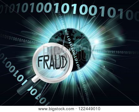 Online Fraud Concept