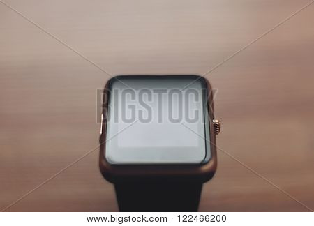 Close Up Of Smart Watch